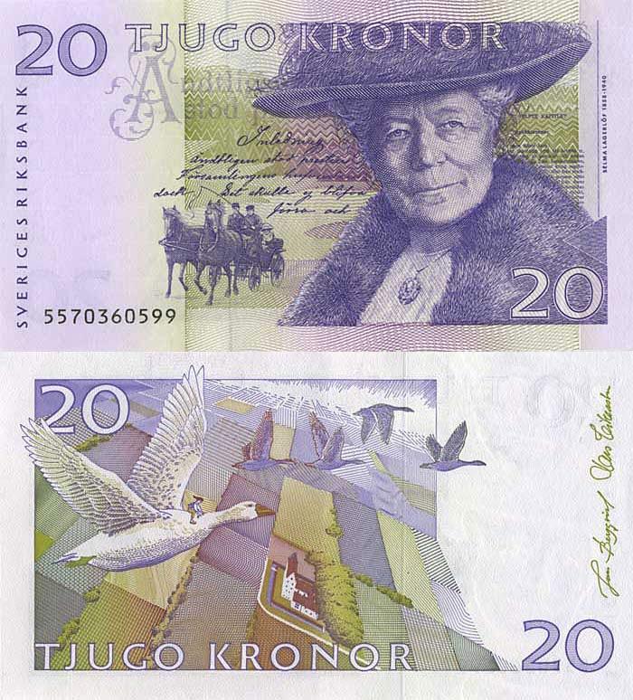 Швеция, 20 шведских крон