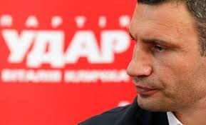УДАР: Парламент принял закон, который может помешать Кличко на выборах