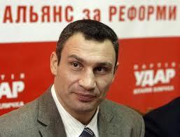 Виталий Кличко будет баллотироваться в президенты Украины в 2015 году