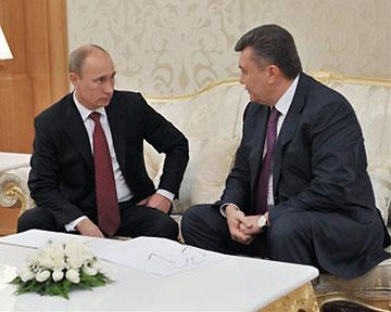 Путин в Сочи проводит неформальную встречу с Януковичем