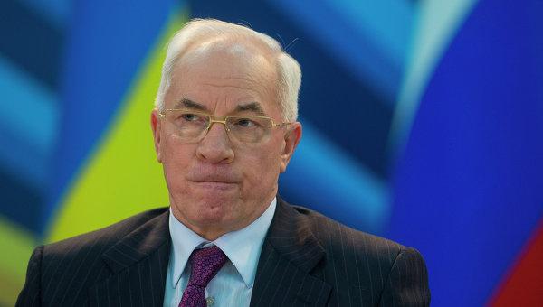 Азаров: госбюджет-2014 Украины зависит от итогов переговоров с Россией