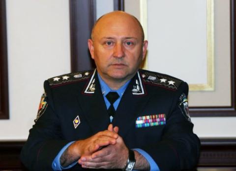 Глава киевской милиции взял на себя разгон Евромайдана