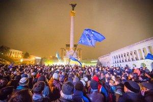 Для митингующих создали интерактивную карту евромайданов