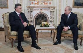 Янукович и Путин встречались, общались, но ничего не подписывали