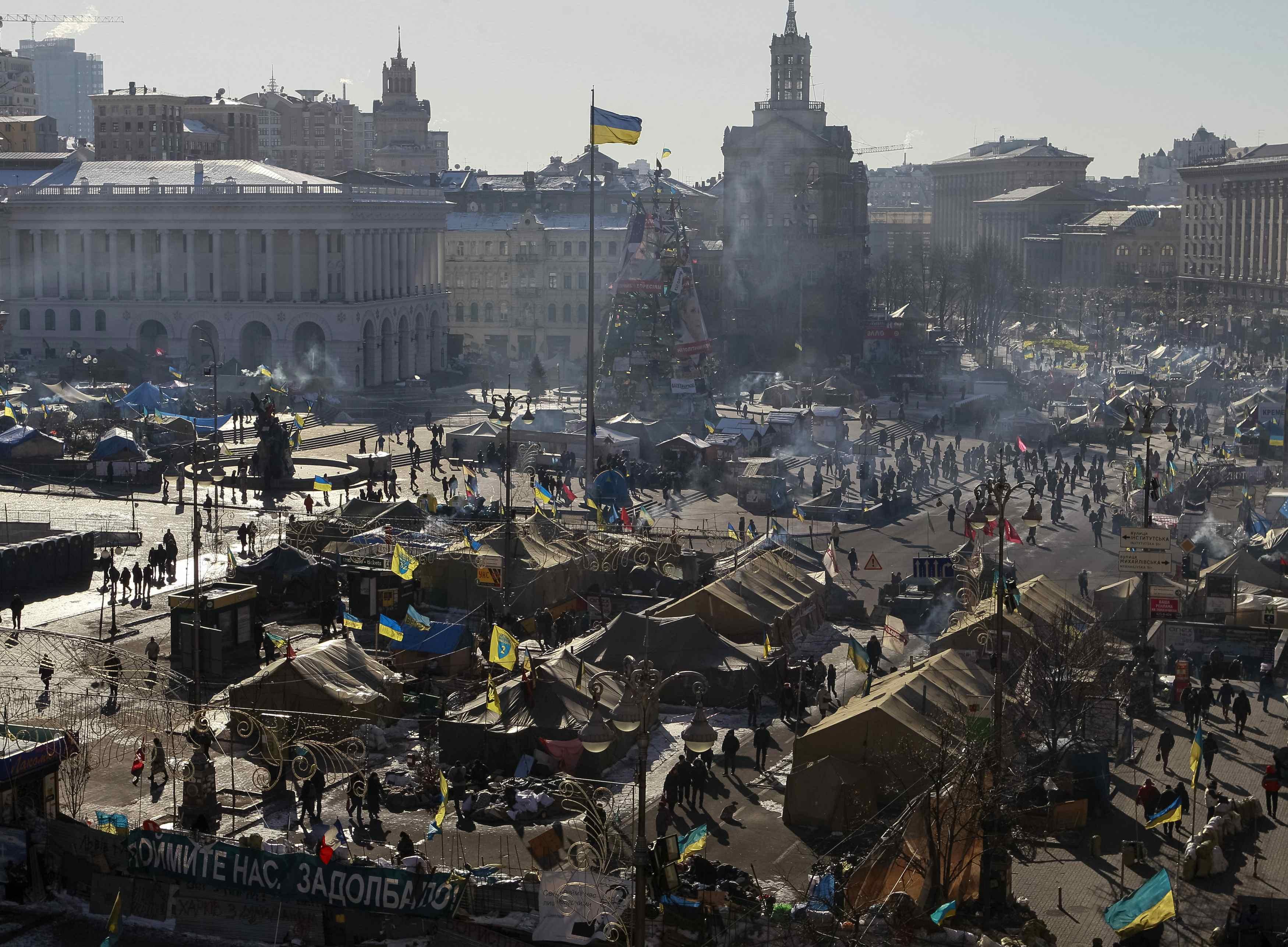 Сегодня активисты Майдана проведут субботник