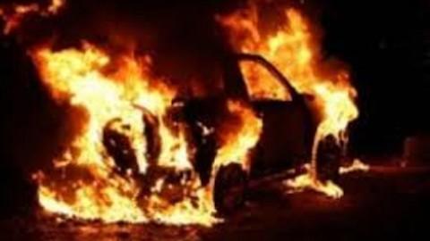 Милиция задержала грузина по подозрению в поджоге автомобилей в Киеве