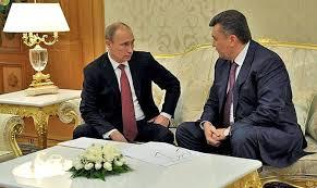 Янукович и Путин побеседовали в Сочи