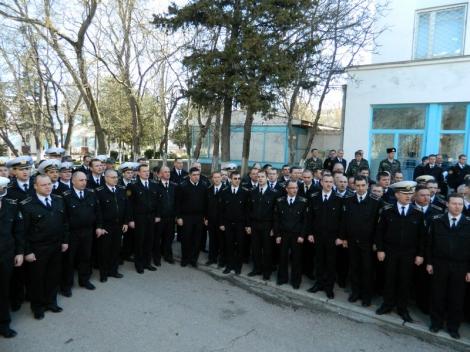Офицеры ВМС подтвердили верность военной присяге
