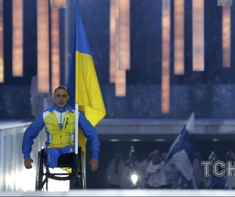 На открытии Паралимпиады в Сочи был только один украинский флагоносец