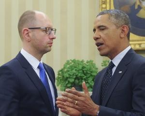 Обама встретился в Белом доме с Яценюком