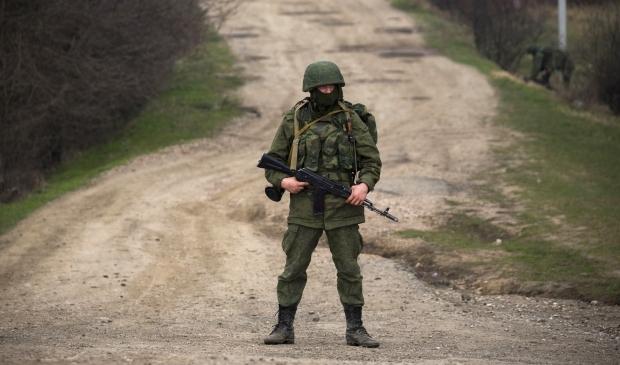 В Крыму российский военный расстрелял украинского офицера