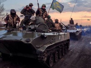 К Славянску движутся танки, а к Краматорску БТРы – СМИ