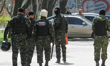 В ходе АТО был освобожден от боевиков город Святогорск