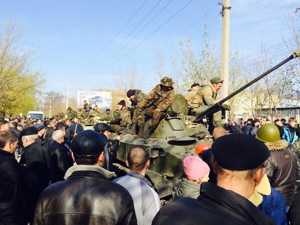 Украинских десантников накажут за трусость