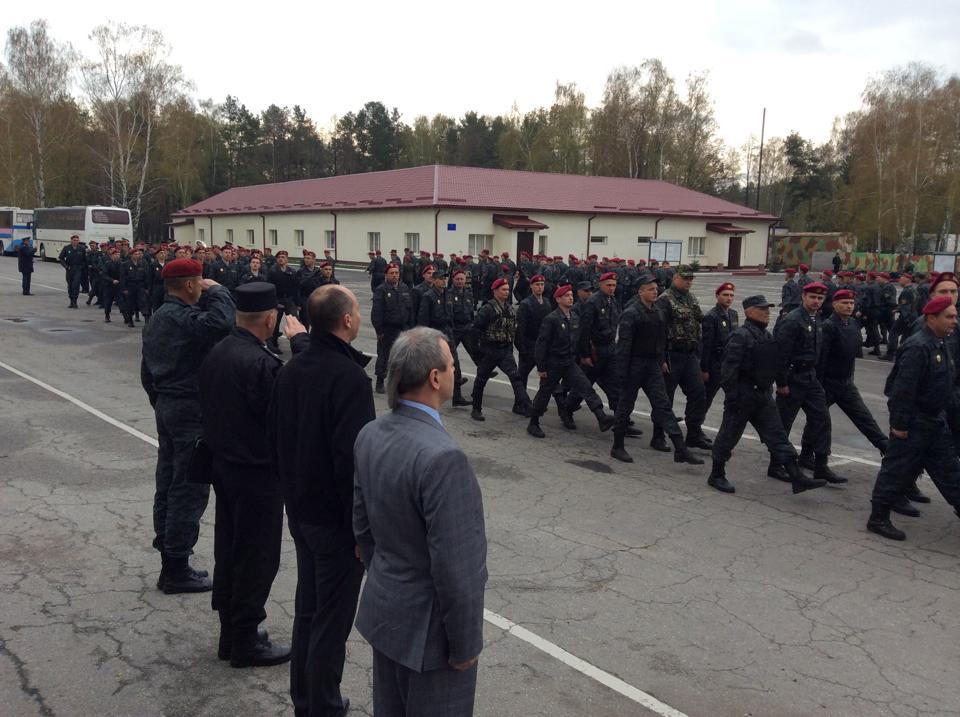 Первый батальон Национальной гвардии идет на передовую, – Парубий
