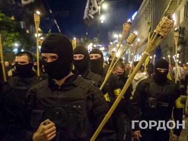 «Патриоты Украины» не поделили территорию с «самообороной Майдана»