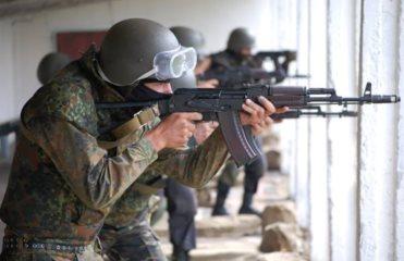 Киевский батальон обороны отправился уничтожать террористов