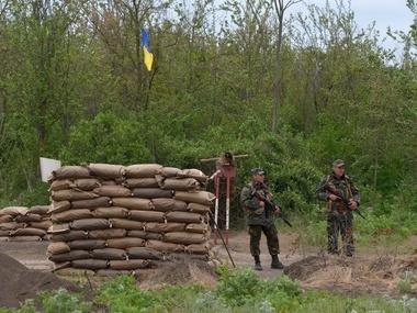 Под Славянском убили троих террористов, прорывавшихся через блокпост