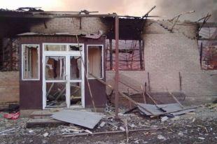 Видео: боевики обстреляли Амвросиевку Донецкой области из «Града»