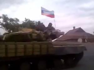 В Донецкой области бой, террористы наступают танками