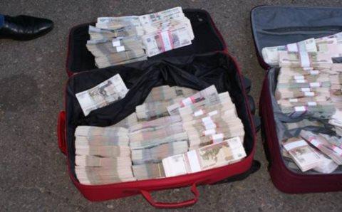 СБУ задержала курьера, который вез 5 млн.рублей террористам Донбасса