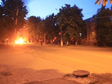 В Артемовске силовики обстреляли штаб ДНР