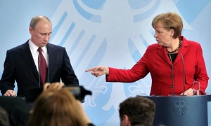 Меркель, Кемерон и Олланд дали Путину время до вторника
