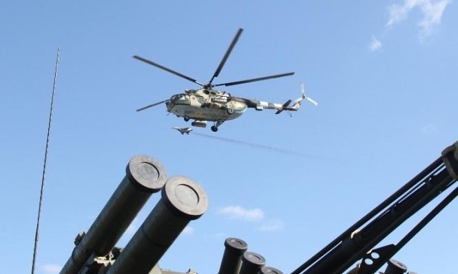 Российские вертолеты пересекли воздушное пространство Украины