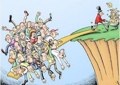 Агентство S&P считает, что разрыв между богатыми и бедными замедляет рост экономики США