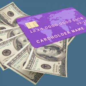 Банковская карта или наличные