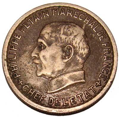 Деньги Франции времен Второй мировой войны