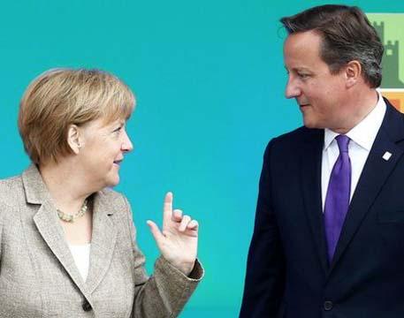 Ангела Меркель и Дэвид Кэмерон знают, как направить Россию к миру