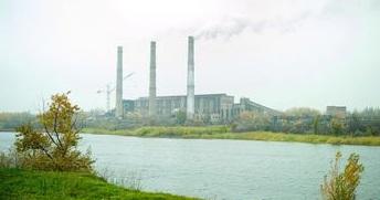 Мироновская ТЭС приостановила работу