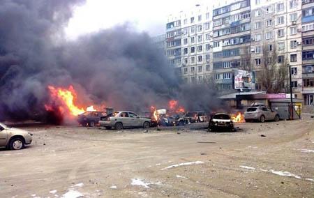 Оперативники ОБСЕ установили, откуда был обстрелян Мариуполь