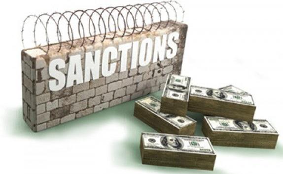 Россия теряет финансы из-за санкций, а также падения стоимости нефти