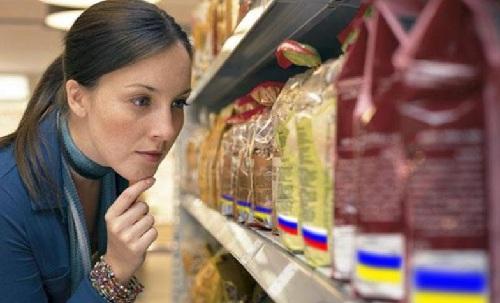 На 40% упала реализация российских товаров в Украине