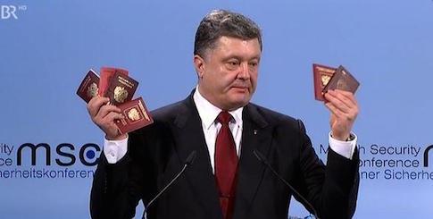 Порошенко предъявил очередные доказательства российской агрессии
