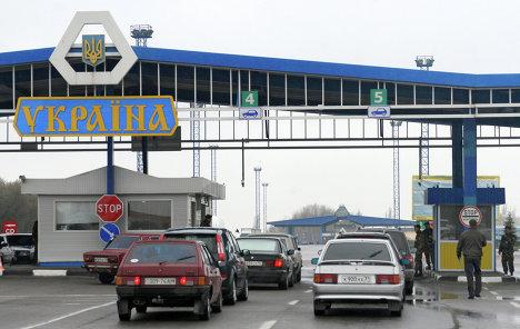 Украина выразила намерение закрыть ряд пунктов пропуска с Россией