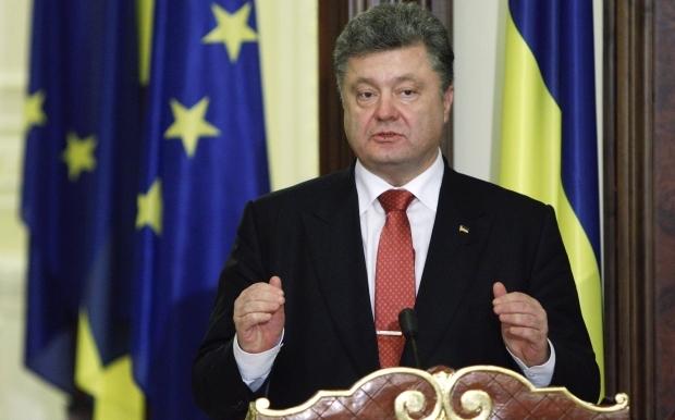 Порошенко собирается подписать документ о введении санкций