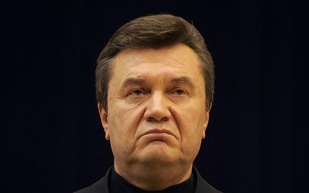 Янукович скучает по Украине