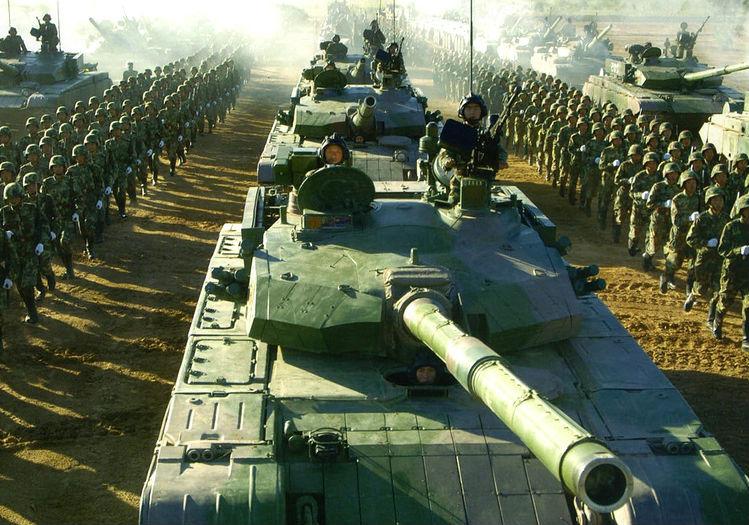 Китай усиливает армию