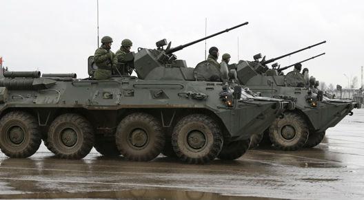 На движение военной техники наложены ограничения