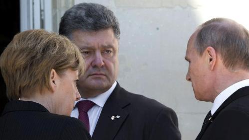«Украинский вопрос» смогут решить лишь переговоры Порошенко и Путина