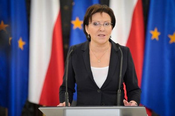 """""""Украинский кризис – первый, в котором проливается кровь за Евросоюз"""", - премьер-министр Польши"""