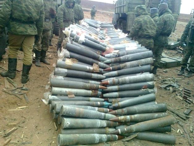Боевики по-прежнему получают вооружение из России