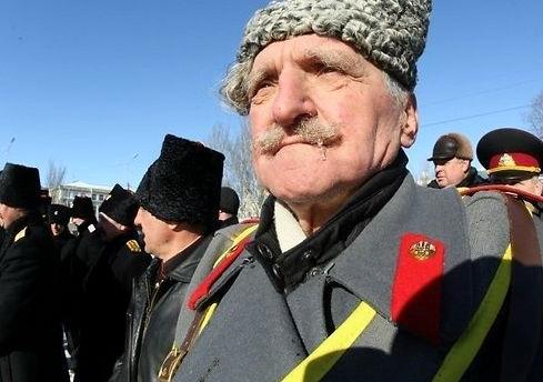 Российские казаки хотят вернуть Януковича к власти