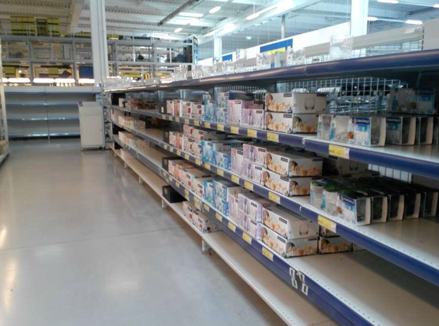 Крымчанам придется переплачивать:  вместо украинских товаров продают дорогие российские продукты