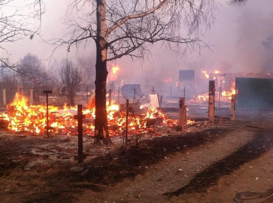 Хакасия в огне: подборка фото пожара и разрушений