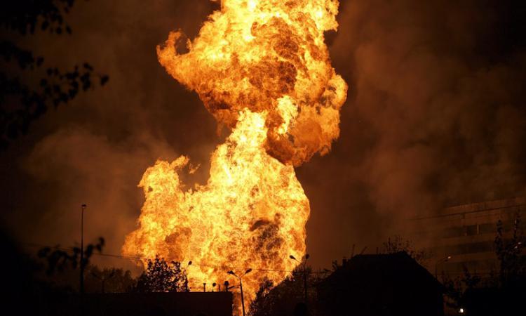 Очередной пожар: В России взорвался газопровод