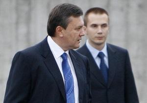 Экс-президент Украины и сын вновь обжалуют решение о санкциях